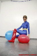 Rubberboots, Lycra, Ballons